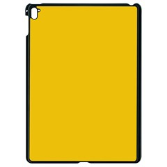 Cheesy Apple Ipad Pro 9 7   Black Seamless Case by snowwhitegirl