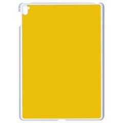 Cheesy Apple Ipad Pro 9 7   White Seamless Case by snowwhitegirl