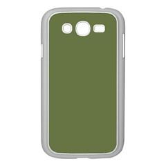 Earth Green Samsung Galaxy Grand Duos I9082 Case (white) by snowwhitegirl
