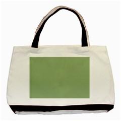 Tree Green Basic Tote Bag by snowwhitegirl