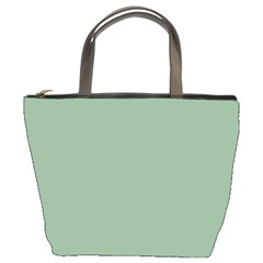 Mossy Green Bucket Bags by snowwhitegirl