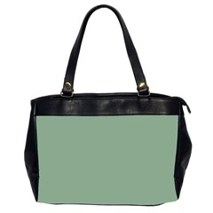 Mossy Green Office Handbags (2 Sides)