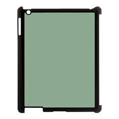 Mossy Green Apple Ipad 3/4 Case (black) by snowwhitegirl