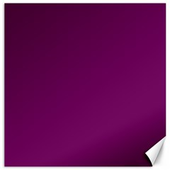 Magenta Ish Purple Canvas 16  X 16   by snowwhitegirl