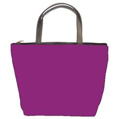 Magenta Ish Purple Bucket Bags by snowwhitegirl