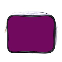 Magenta Ish Purple Mini Toiletries Bags by snowwhitegirl