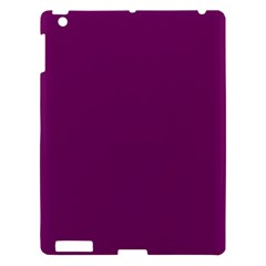 Magenta Ish Purple Apple Ipad 3/4 Hardshell Case by snowwhitegirl