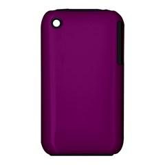 Magenta Ish Purple Iphone 3s/3gs by snowwhitegirl