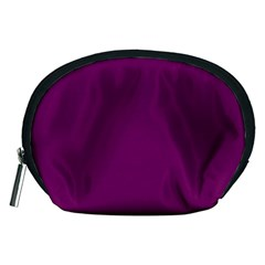 Magenta Ish Purple Accessory Pouches (medium)  by snowwhitegirl