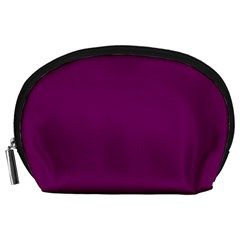Magenta Ish Purple Accessory Pouches (large)  by snowwhitegirl