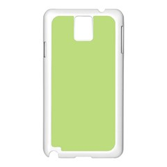 Grassy Green Samsung Galaxy Note 3 N9005 Case (white) by snowwhitegirl