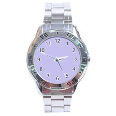 Violet Sweater Stainless Steel Analogue Watch by snowwhitegirl