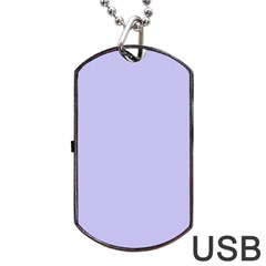 Violet Sweater Dog Tag Usb Flash (one Side) by snowwhitegirl
