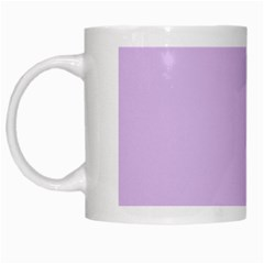Lilac Morning White Mugs