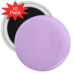Lilac Morning 3  Magnets (10 Pack)  by snowwhitegirl