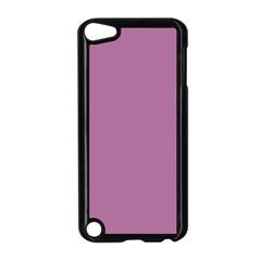 Silly Purple Apple Ipod Touch 5 Case (black) by snowwhitegirl