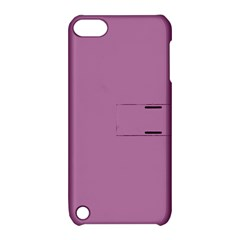 Silly Purple Apple Ipod Touch 5 Hardshell Case With Stand by snowwhitegirl