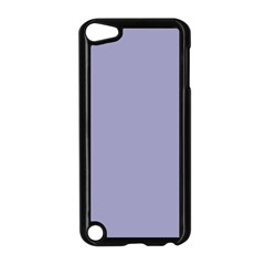Grey Violet Apple Ipod Touch 5 Case (black) by snowwhitegirl