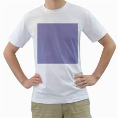 Grey Violet Men s T Shirt (white)  by snowwhitegirl