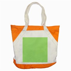 Meadow Green Accent Tote Bag by snowwhitegirl