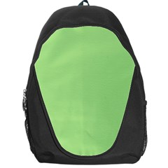 Meadow Green Backpack Bag by snowwhitegirl