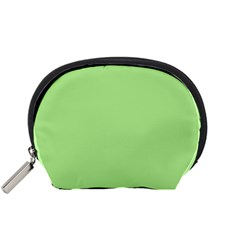 Meadow Green Accessory Pouches (small)  by snowwhitegirl