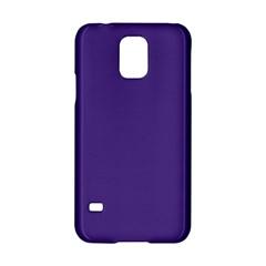 Dark Grape Purple Samsung Galaxy S5 Hardshell Case  by snowwhitegirl