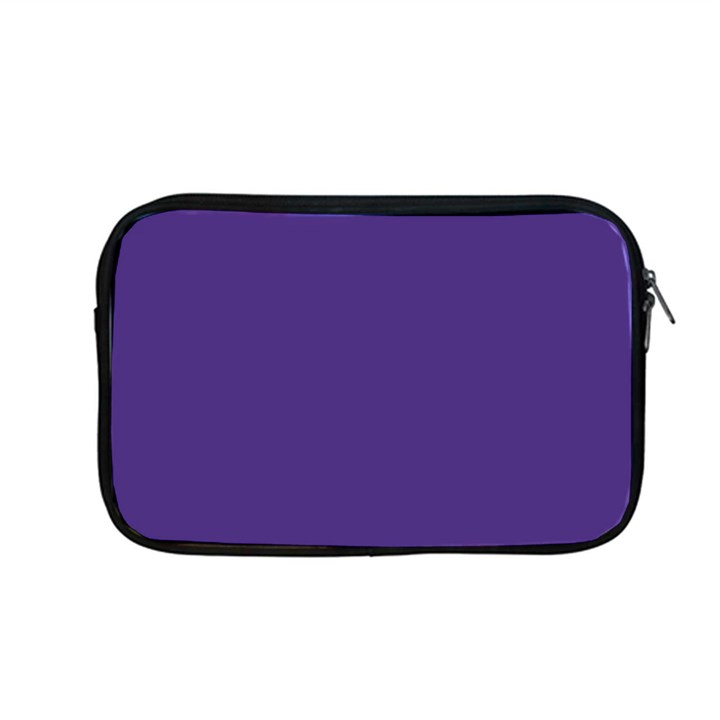 Dark Grape Purple Apple MacBook Pro 13  Zipper Case