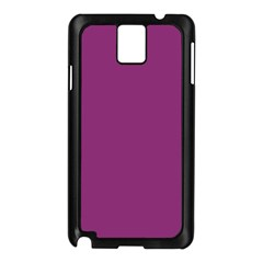 Grape Purple Samsung Galaxy Note 3 N9005 Case (black) by snowwhitegirl