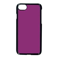 Grape Purple Apple Iphone 8 Seamless Case (black) by snowwhitegirl
