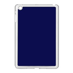 Dark Navy Apple Ipad Mini Case (white) by snowwhitegirl