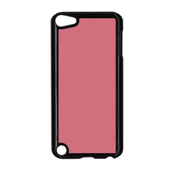 Pink Mauve Apple Ipod Touch 5 Case (black) by snowwhitegirl