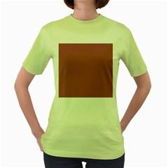 Rose Grey Women s Green T Shirt by snowwhitegirl
