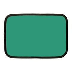 Teal Ocean Netbook Case (medium)  by snowwhitegirl