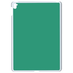 Teal Ocean Apple Ipad Pro 9 7   White Seamless Case by snowwhitegirl