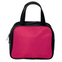 Rosey Day Classic Handbags (one Side) by snowwhitegirl