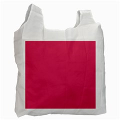 Rosey Day Recycle Bag (two Side)  by snowwhitegirl