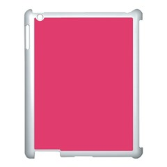 Rosey Day Apple Ipad 3/4 Case (white) by snowwhitegirl