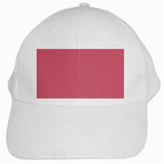 Rosey White Cap