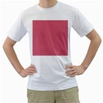 Rosey Men s T-Shirt (White) (Two Sided) Front