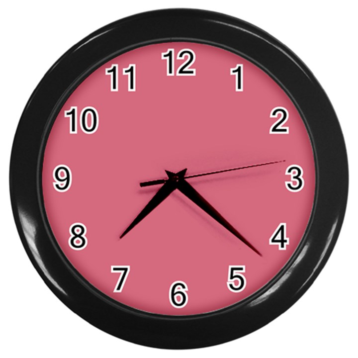 Rosey Wall Clocks (Black)