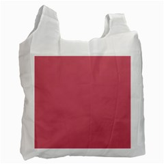 Rosey Recycle Bag (two Side)  by snowwhitegirl