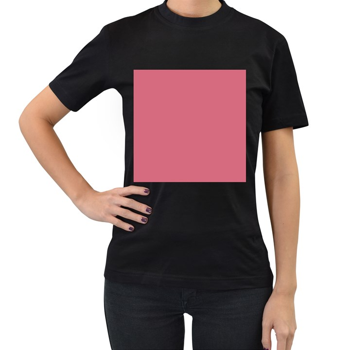 Rosey Women s T-Shirt (Black)