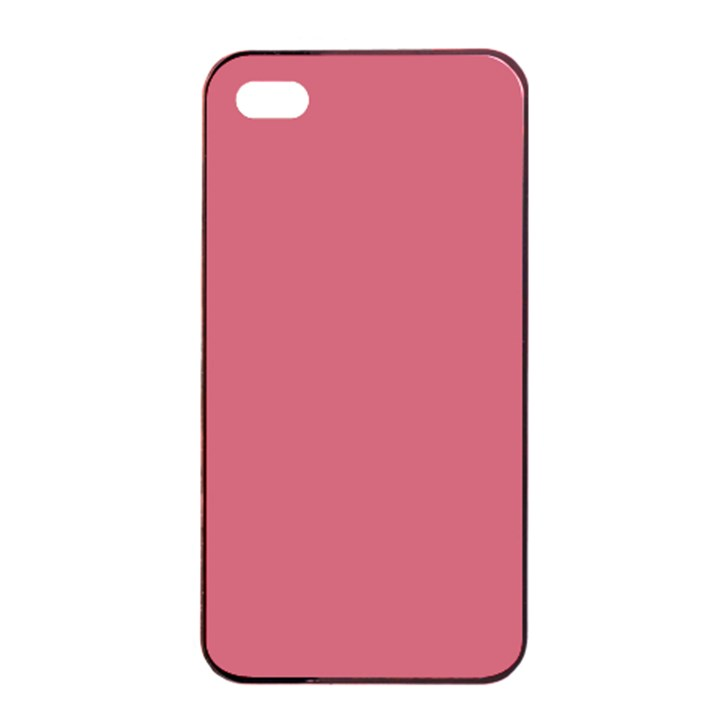 Rosey Apple iPhone 4/4s Seamless Case (Black)