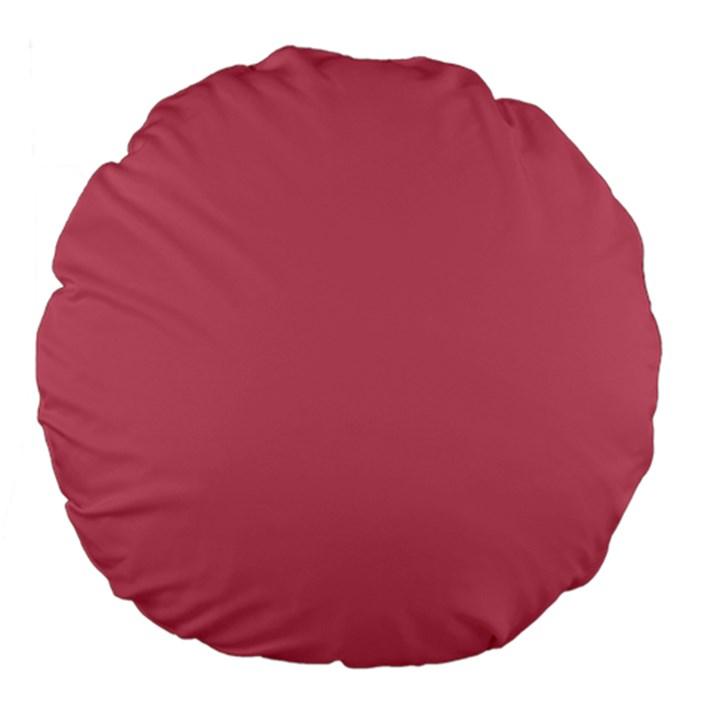 Rosey Large 18  Premium Flano Round Cushions