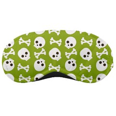 Skull Bone Mask Face White Green Sleeping Masks