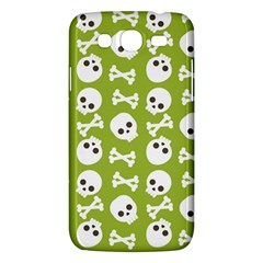 Skull Bone Mask Face White Green Samsung Galaxy Mega 5 8 I9152 Hardshell Case
