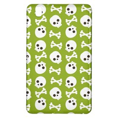 Skull Bone Mask Face White Green Samsung Galaxy Tab Pro 8 4 Hardshell Case