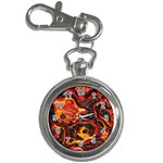 Lava Active Volcano Nature Key Chain Watches Front