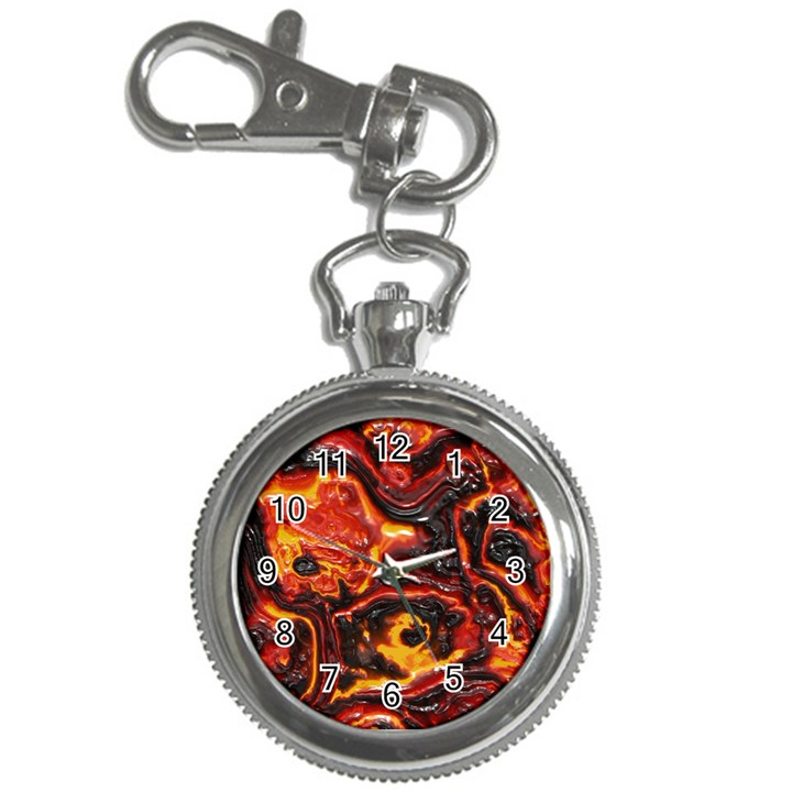 Lava Active Volcano Nature Key Chain Watches